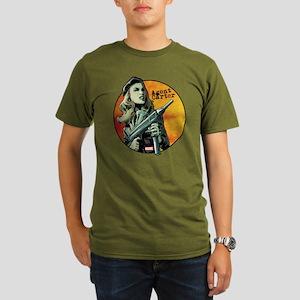 Agent Carter Machine Organic Men's T-Shirt (dark)