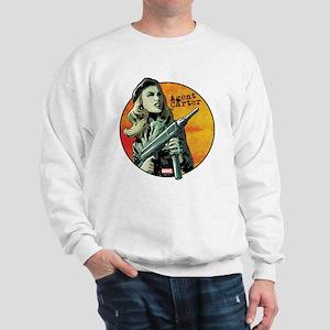 Agent Carter Machine Gun Sweatshirt