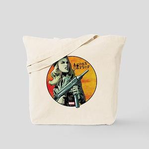 Agent Carter Machine Gun Tote Bag
