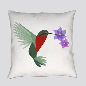 Hummingbird Everyday Pillow
