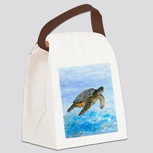 Turtle 1 Canvas Lunch Bag