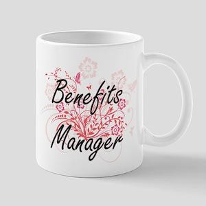Benefits Manager Artistic Job Design with Flo Mugs