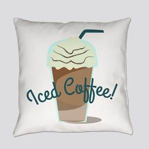Iced Coffee Everyday Pillow