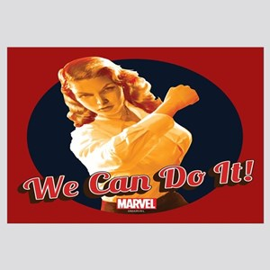 Agent Carter We Can Do It Wall Art