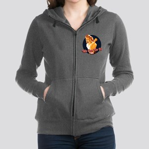 Agent Carter We Can Do It Women's Zip Hoodie