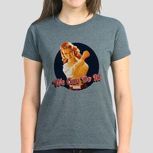 Agent Carter We Can Do It Women's Dark T-Shirt
