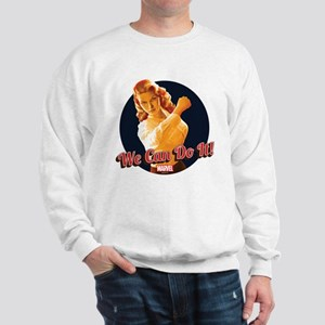 Agent Carter We Can Do It Sweatshirt