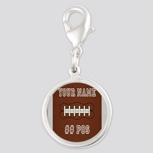 Personalized Football Boys Charms