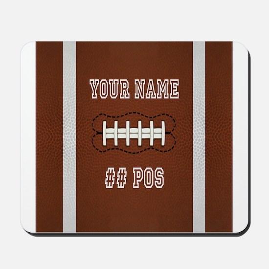 Personalized Football Boys Mousepad