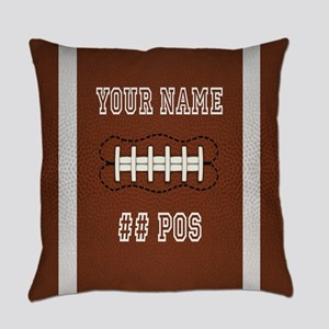 Personalized Football Boys Everyday Pillow
