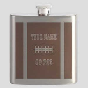 Personalized Football Boys Flask
