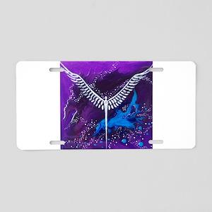 Angel of The Heavens Aluminum License Plate