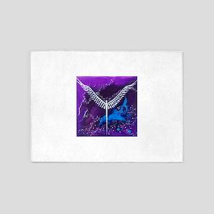Angel of The Heavens 5'x7'Area Rug