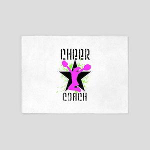 Cheer Coach 5'x7'Area Rug