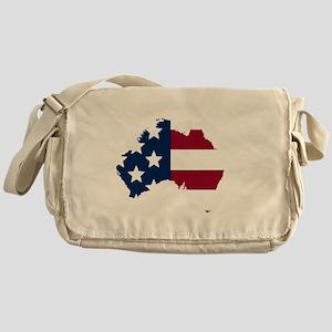 Australian American Messenger Bag