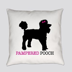 pampered pooch Everyday Pillow