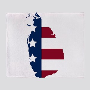 Sri Lankan American Throw Blanket