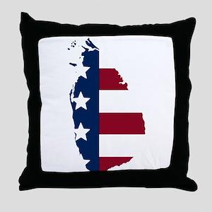 Sri Lankan American Throw Pillow