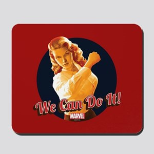 Agent Carter We Can Do It Mousepad