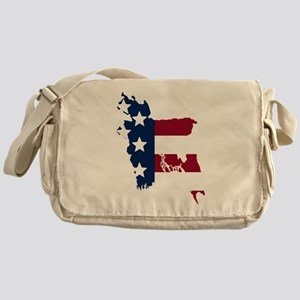 Bangladeshi American Messenger Bag