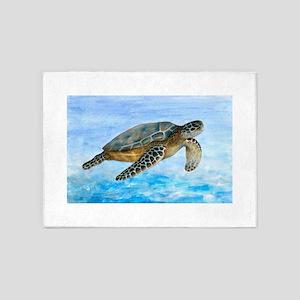 Turtle 1 5'x7'Area Rug