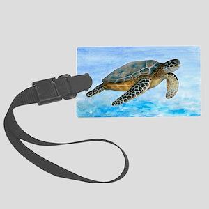 Turtle 1 Large Luggage Tag