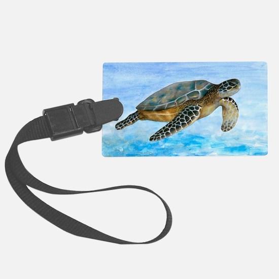 Turtle 1 Luggage Tag
