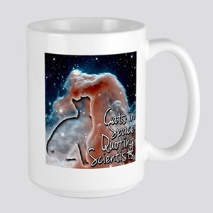 Cats in Space Quoting Scientists1 Mugs