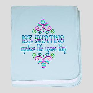 Ice Skating Fun baby blanket