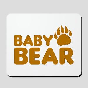 Baby Bear Mousepad