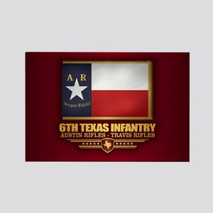 6th Texas Infantry Magnets