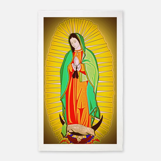 Our Lady Of Guadalupe Area Rug