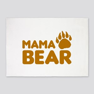 Mama Bear 5'x7'Area Rug