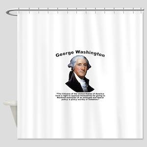 Washington: GovForm Shower Curtain