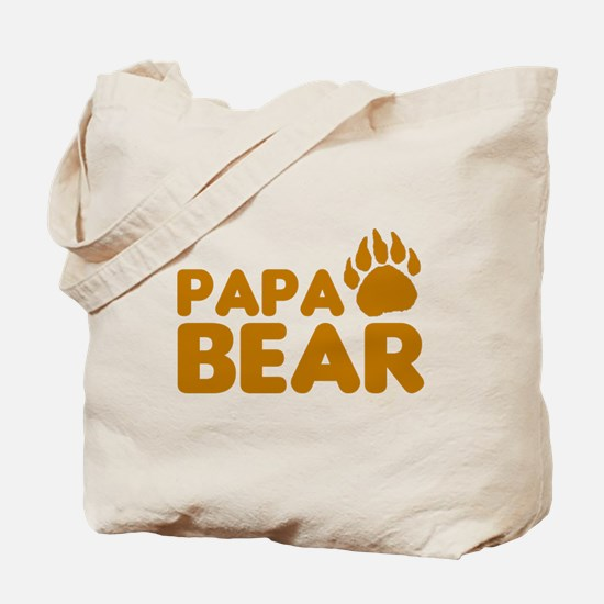 Papa Bear Tote Bag