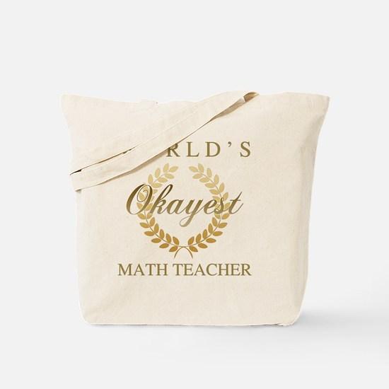 Funny math joke Tote Bag