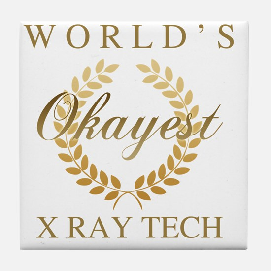 Unique X ray tech Tile Coaster