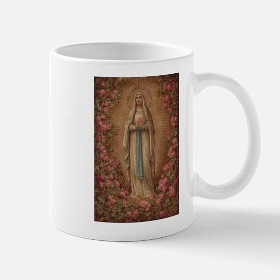 Our Lady Of Lourdes Mug