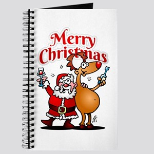 Merry Christmas - Santa Claus and his Rein Journal