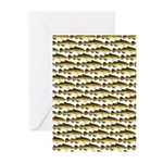 Cod Pattern 2 Greeting Cards