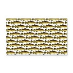 Cod Pattern 2 Rectangle Car Magnet