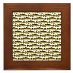 Cod Pattern 2 Framed Tile