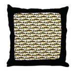 Cod Pattern 2 Throw Pillow