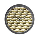 Cod Pattern 2 Wall Clock