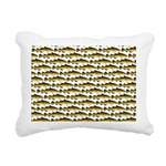 Cod Pattern 2 Rectangular Canvas Pillow