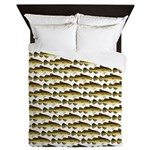 Cod Pattern 2 Queen Duvet