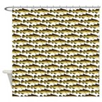 Cod Pattern 2 Shower Curtain