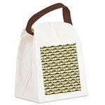 Cod Pattern 2 Canvas Lunch Bag