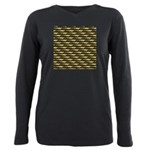 Cod Pattern 2 Plus Size Long Sleeve Tee
