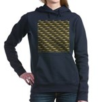 Cod Pattern 2 Women's Hooded Sweatshirt